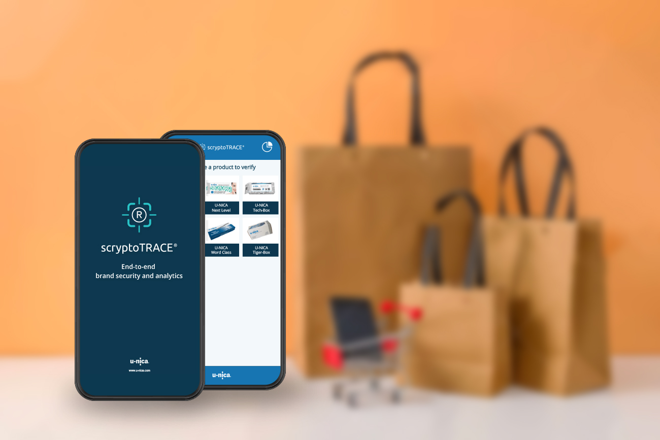 Bags with scrypto app