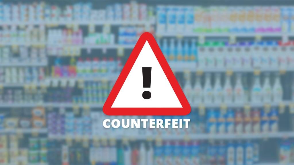 Counterfeit fmcg goods